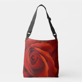 Lush Romance Cross-body Tote Bag