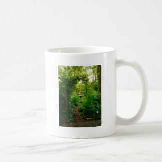 Lush Rose Trellis Basic White Mug