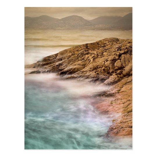 Luskentyre Beach Outer Hebrides Postcard