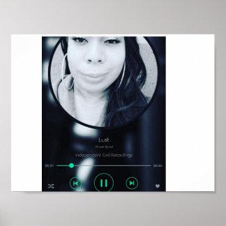 Lust Single Track Promo Poster