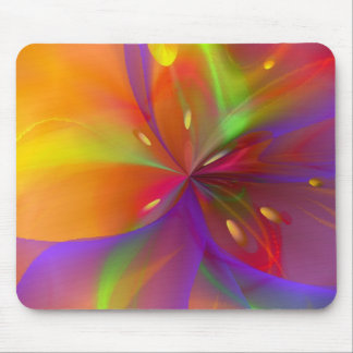 Lustrous Lily Mouse Pad