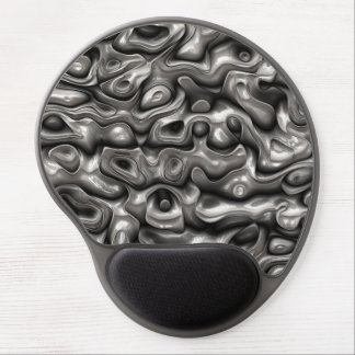 Lustrous Metallic Reflections Gel Mouse Pad