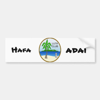 Luta Club Bumper Sticker