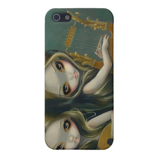 """""""Lute and Lyre"""" iPhone 4 Case"""