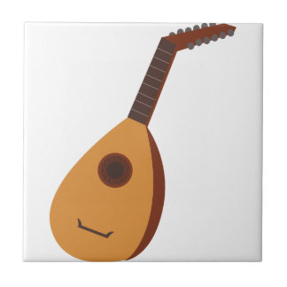 Lute Small Square Tile
