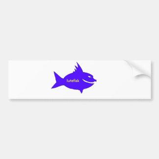 Lutefisk Bumper Sticker