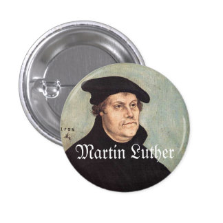 """Luther 1"""" button"""