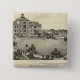 Luther Academy, Nebraska 15 Cm Square Badge
