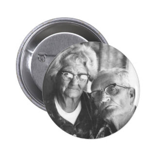 Luther and Minnie 6 Cm Round Badge