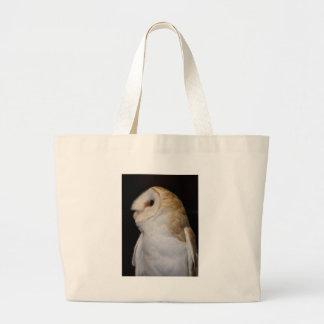 Luther- Common Barn Owl II Jumbo Tote Bag