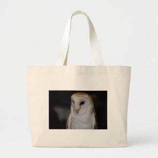 Luther- Common Barn Owl V Jumbo Tote Bag