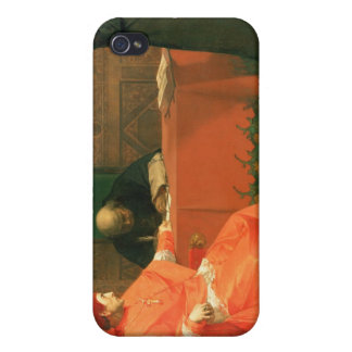 Luther in front of Cardinal Cajetan iPhone 4 Covers