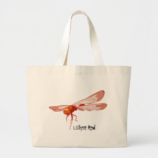 """Luther Red """"Redman"""" Tote Jumbo Tote Bag"""