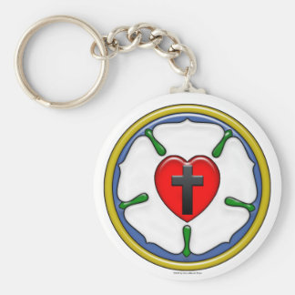 Luther Rose Basic Keychain