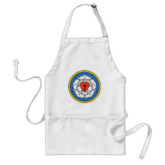 Luther's Rose Standard Apron