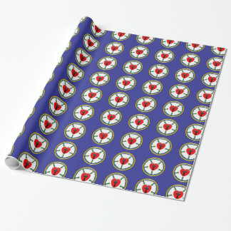 Luther Seal Gift Wrap Wrapping Paper