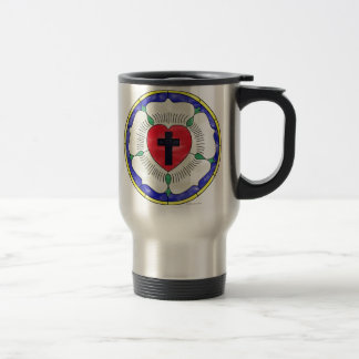 Luther Seal Stained Glass Window Mugs
