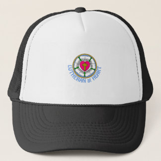 Lutheran At Heart Trucker Hat