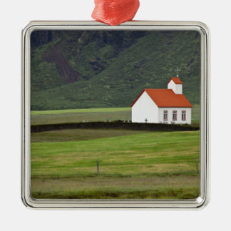Lutheran Church, Iceland Christmas Ornament