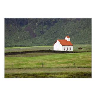 Lutheran Church, Iceland Photo Print