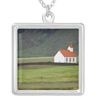 Lutheran Church, Iceland Silver Plated Necklace