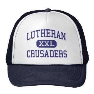 Lutheran - Crusaders - High - Springfield Illinois Trucker Hat