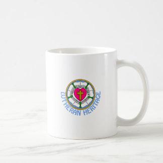Lutheran Heritage Basic White Mug