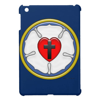 Lutheran Rose iPad Mini Cover