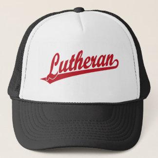 Lutheran Scipt Logo Trucker Hat