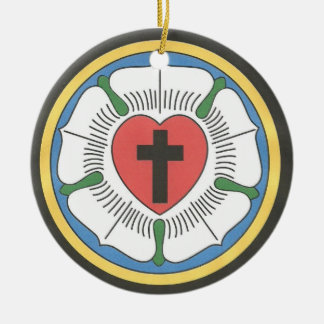 Lutheran Seal Christmas Ornament