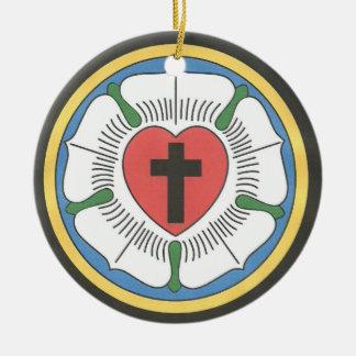 Lutheran Seal Round Ceramic Decoration