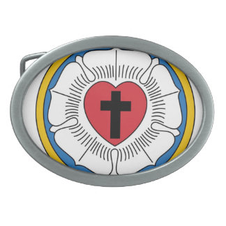 Luther's Rose Belt Buckle