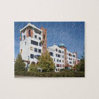 Lutherstadt Wittenberg Hundertwasser School Jigsaw Puzzle