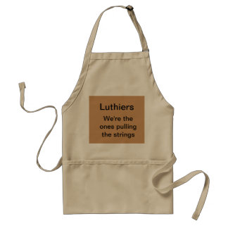 Luthiers: We're the ones pulling the strings Standard Apron