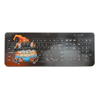 LUTIN  ALIEN CARTOON Custom Wireless Keyboard