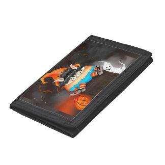 LUTIN ALIEN  CARTOON TriFold Nylon Wallet