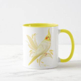 Lutino Cockatiel Mug