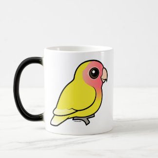 Lutino Peach-faced Lovebird Magic Mug