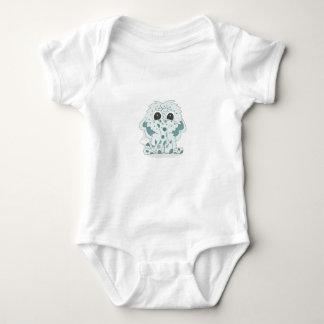 Luv is Like Marshmallows Dgital Art Baby Bodysuit