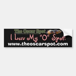 Luv Spot Car Bumper Sticker