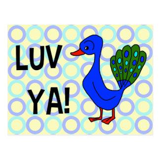 Luv Ya! Postcard