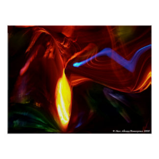 Lux Lucis Quod Vis Somnium (Energy Bolts) Poster