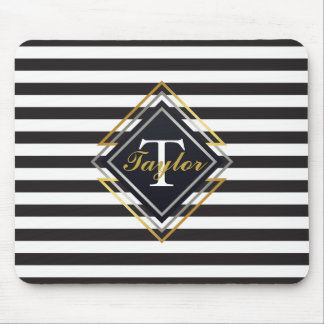 Luxe Monogram Mouse Mat