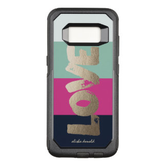 Luxe Stripes OtterBox Commuter Samsung Galaxy S8 Case