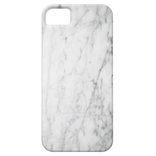 Luxe White Marble iPhone Case