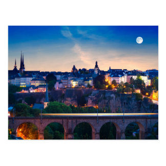 Luxembourg 02A Postcard