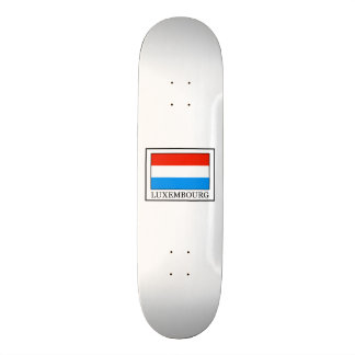 Luxembourg 21.6 Cm Old School Skateboard Deck