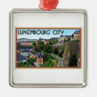 Luxembourg City Christmas Ornament