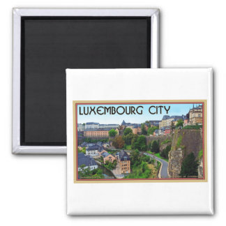 Luxembourg City Magnet