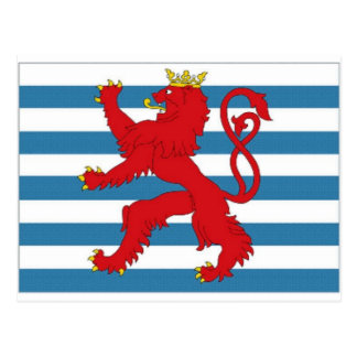 Luxembourg Civil Ensign Postcard